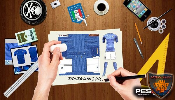 PES 2016 Italia Full Kits EURO 2016 by G-Style