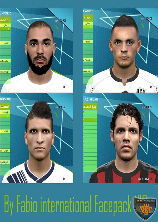 Pes 2016 International Facepack V10 By Fabio