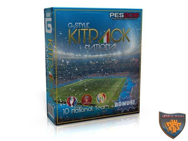 PES 2016 Kits Pack All In One v1.6 by G-Style