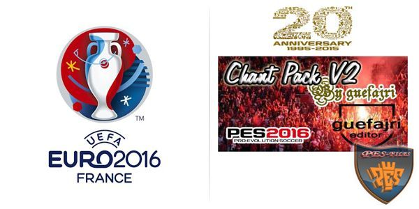 PES 2016 Chant Pack v2 24.04.2016 By Guefajri