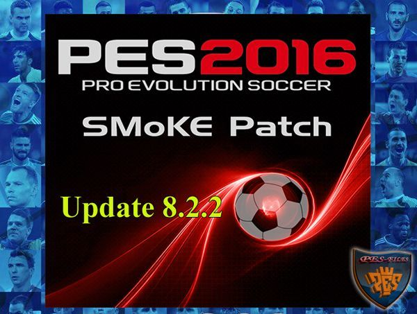 PES 2016 SMoKE Patch Update 8.2.2 (09.04.2016)