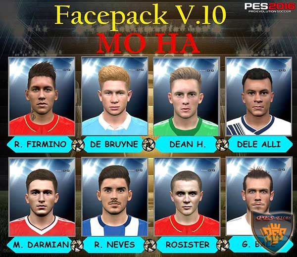 PES 2016 Facepack V.10 by Mo Ha