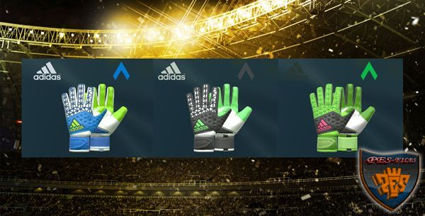 PES 2016 Pack Zone Pro Gloves by Tisera09