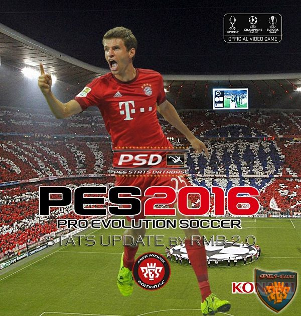 PES 2016 PSD Stats for PTE 5 (V2.0) by RMB