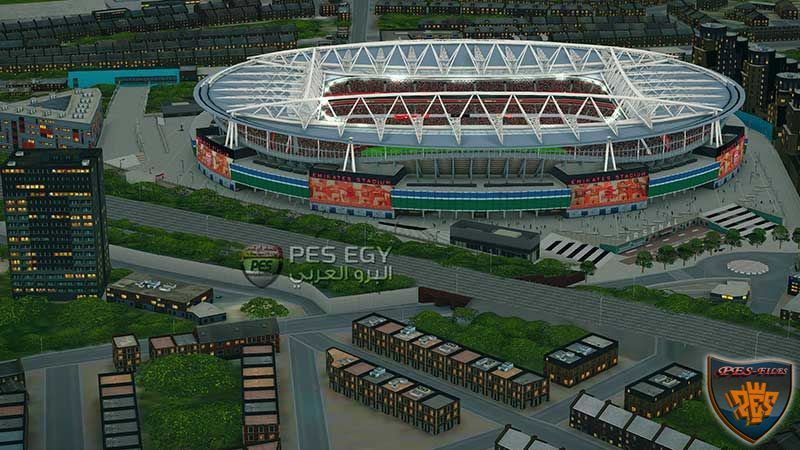 PES 2016 Emirates Stadium With Exterior View Intro Beta