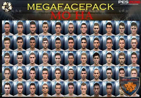 PES 2016 Mega Face Pack by Mo Ha