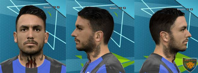Pes 2016 Pinilla by Rednik + Tattoo