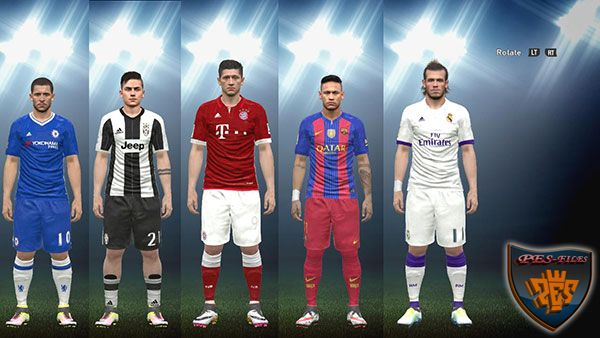 PES 2016 Kits Pack by Medhat Sami