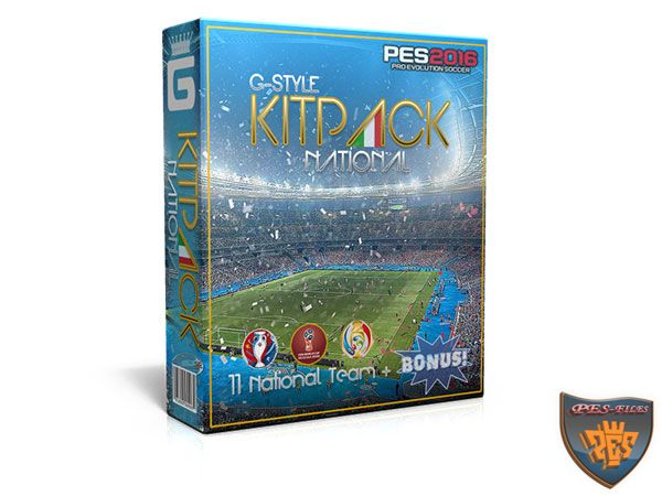 PES 2016 Kits Pack All In One v1.7