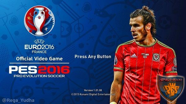 PES 2016 Graphic Menu EURO-2016 by Rega