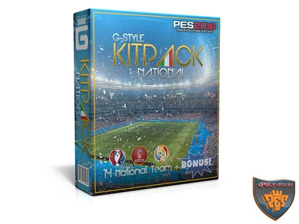 PES 2016 New KitPack National AIO Update v2.0 by G-Style