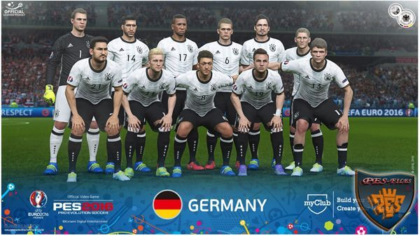 PES 2016 FacePack Germany EURO 2016 27 Players by Tran Ngoc