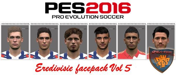 PES 2016 Eredivisie Facepack Vol 5 by Professional