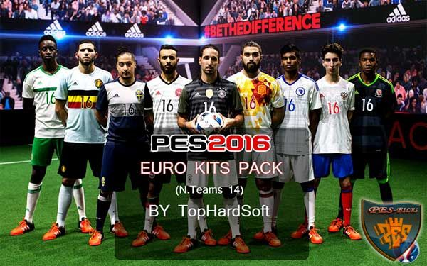 PES 2016 Euro 2016 Kit Pack (14 Team) Packed