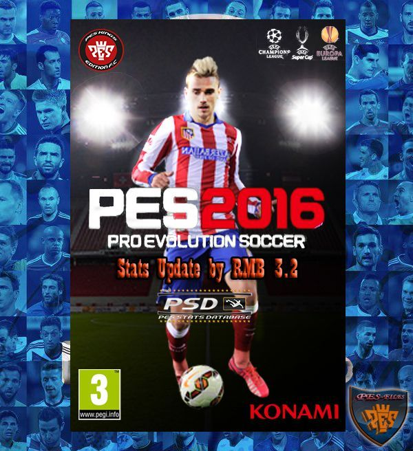 PES 2016 PSD Stats (V3.2) for PTE 5.1 by RMB