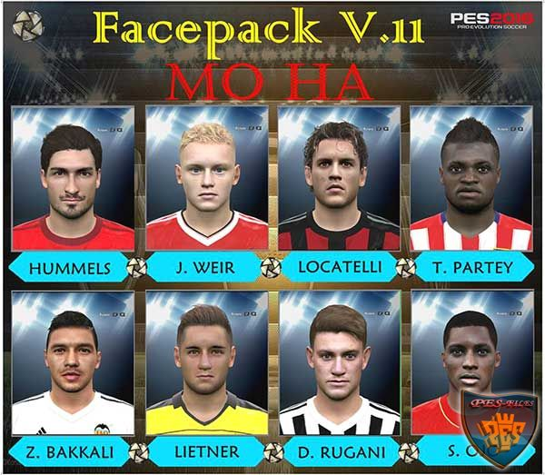 PES 2016 Facepack v.11 by Mo Ha