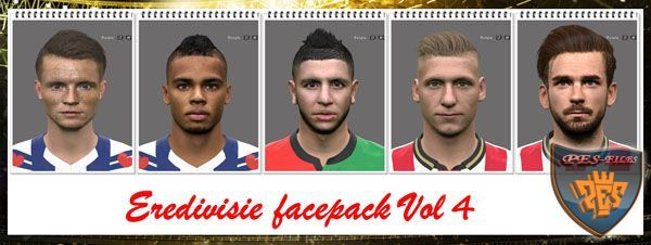 PES 2016 Eredivisie Facepack Vol4 by Professional