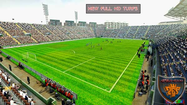Pes 2013 New Full HD Turfs Pack (48 Stadium)