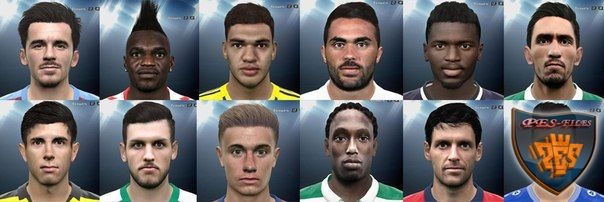 Pes 2016 International facepack №8
