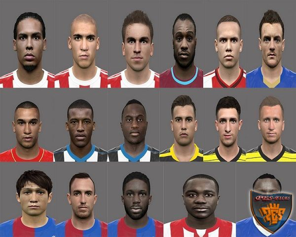 PES 2016 EPL Facepack by Rednik