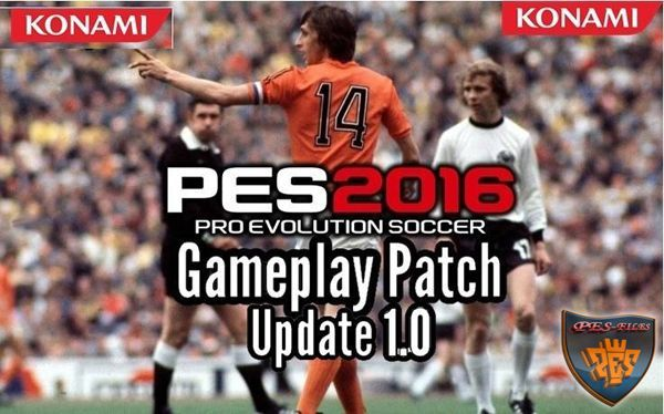 PES 2016 Gameplay Patch Update 1.0 by Raja