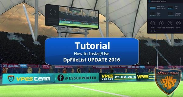 PES 2016 DpFileList Update v2.0 2016 by PhucProITBoy