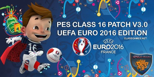 PES 2016 PES CLASS 16 Euro Edition by ClassGames
