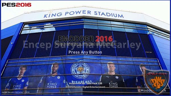 PES 2016 PC Leicester City Mod Graphic