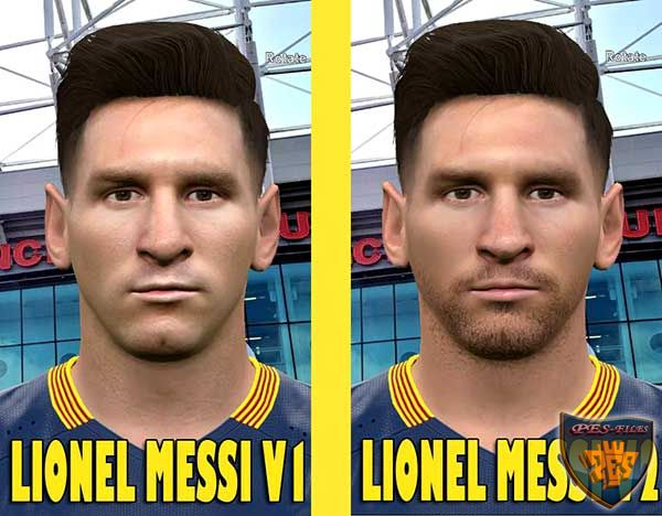 PES 2016 Lionel Messi Facepack by Alief