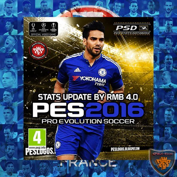 PES 2016 PSD Stats (V4.0) for PTE 5.1 by RMB