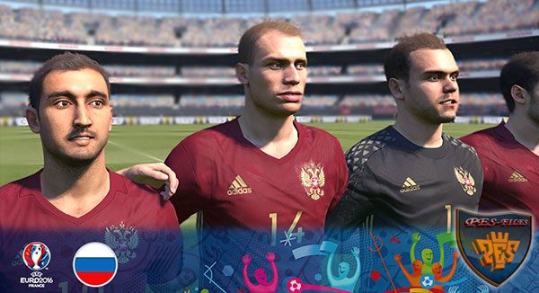 Russia Euro 2016 Kit PES 2016 PC and PS4