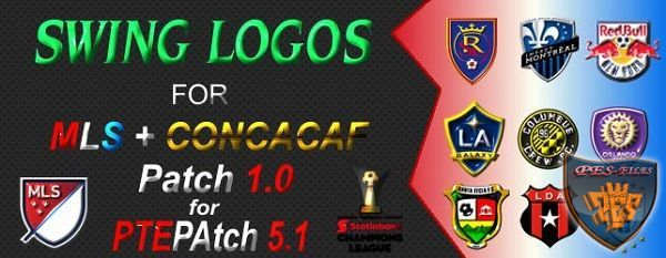 PES 2016 Swing Logos Pack For MLS and Concacaf Patch V1.0