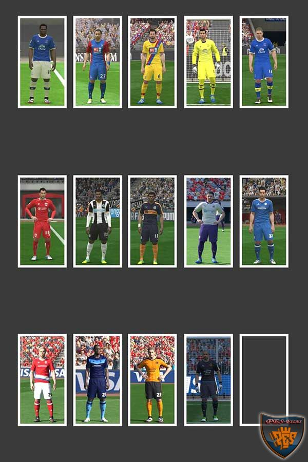 PES 2016 English League 16-17 Kitpack