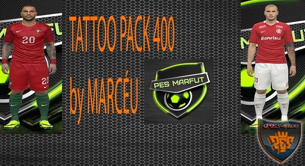 PES 2016 Tattoopack 400 By Marcéu
