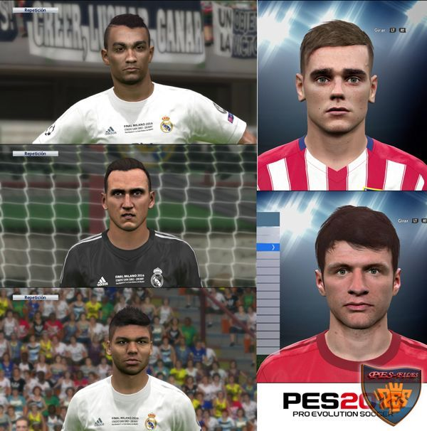 PES 2016 Mini New Faces Pack by Sergio-Argentina