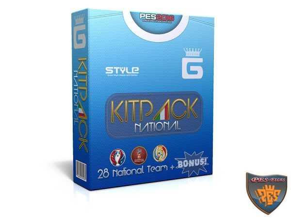 PES 2016 Kits Pack All In One v2.9 by G-Style