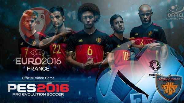 PES 2016 FacePack Official Belgium Euro 2016 by Tran Ngoc
