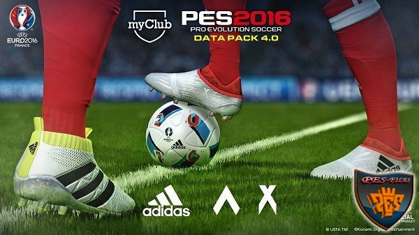 PES 2016 New Update DataPack v.4.0.0 + Crack 3DM v.1.5