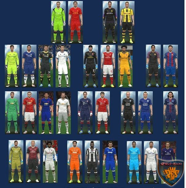 PES 2016 New Kit 2016/17 v.1.4 by MT Games 1991