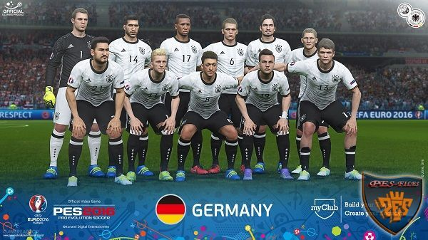 PES 2016 FacePack Official Germany Euro 2016 by Tran Ngoc