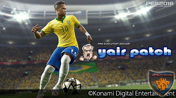 PES 2016 Core Gameplay Patch Ver 2.6 (23.5.16) by Yair