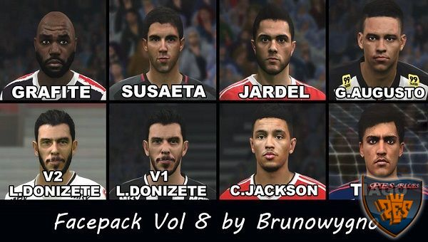 PES 2016 Facepack Vol 8 by Brunowygno