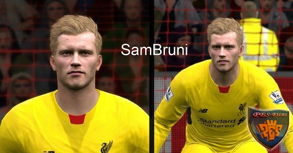 PES 2016 Face Loris Karius (Liverpool) By SamBruni