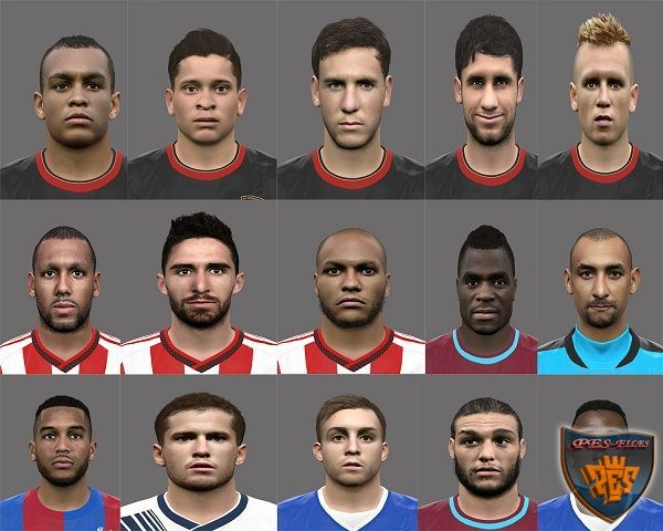 PES 2016 Faces EPL 1 by Rednik