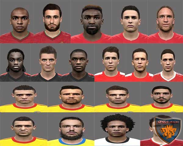 Pes 2016 Euro pack by Rednik