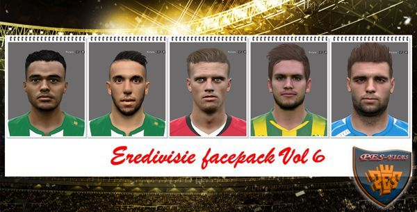 PES 2016 Eredivisie Facepack Vol 6 by Professional