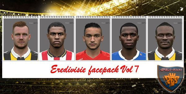 PES 2016 Eredivisie Facepack Vol7 by Professional