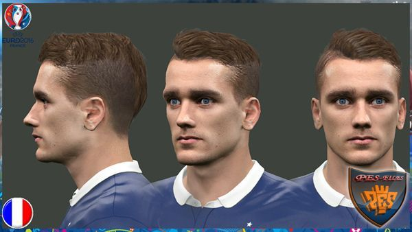 PES 2016 France Face by EmreT