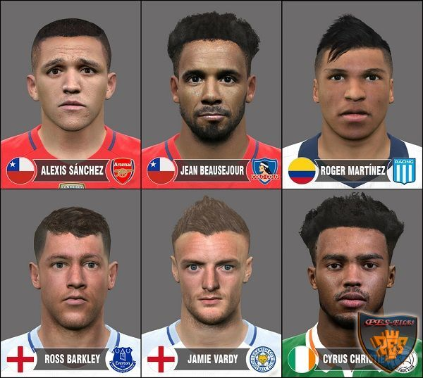 PES 2016 Facepack N°2 by Burgos