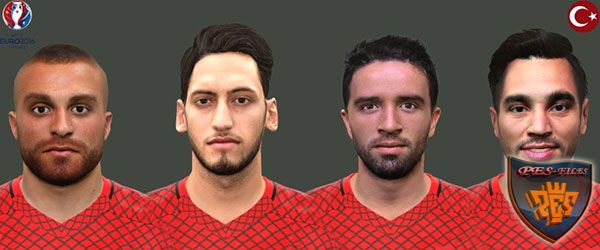 PES 2016 Turkey Faces Pack by EmreT